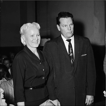 Dr. O. L. and Velma Jaggers, 1958